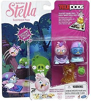 Angry Birds Stella Telepods Fiesta de pijamas Figura Pack de 2 [Stella & Sauce]