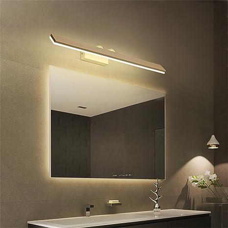 Las luces LED/minimalista moderno luz frontal de cristal apliques de baño /aseo/