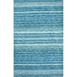 Nuloom 8′ x 10′ Hand Tufted Classie Shag Rug in Sky Blue Review