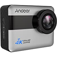Andoer Action Camera Andoer 4K LCD Touchscreen with 20MP Action Camera