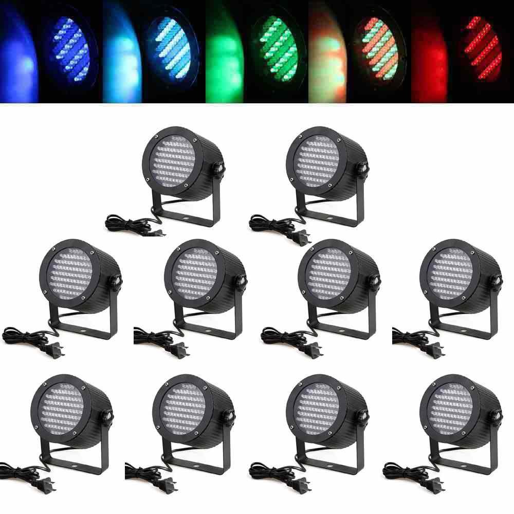 86pcs LED Moracle Luces de Escenario LED 25 Luces de Escenario W Luz LED PAR RGB DMX512 Reflector PAR Varias Combinaciones de Colores