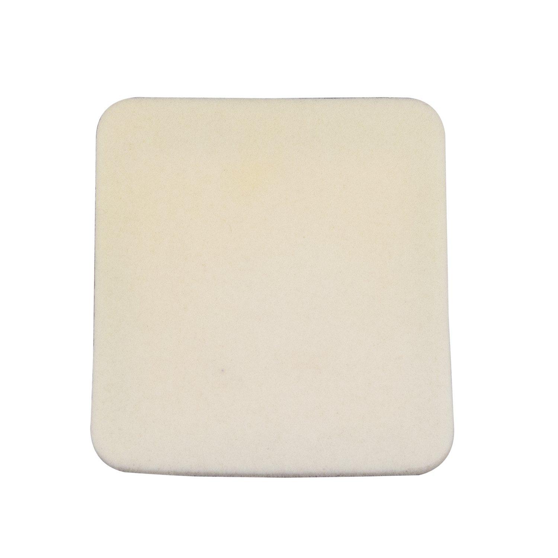 Dynarex 3012 CuraFoam Foam Dressing, 4'' x 4.25'' (Pack of 120)