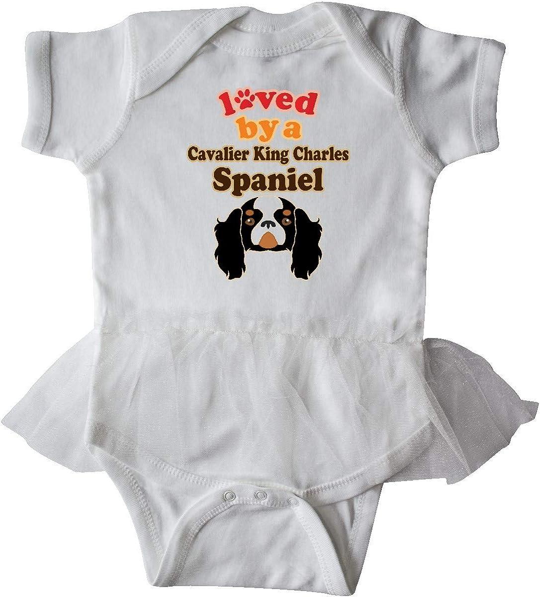inktastic Cavalier King Charles Dog Infant Tutu Bodysuit