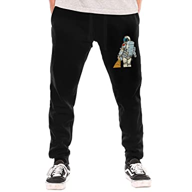 NT Huatou Man's Cotton Sweatpants Astronauts Separated from