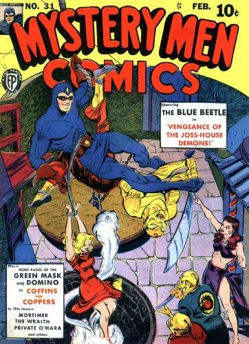 Mystery Men Comics #31 (Illustrated) (Golden Age Preservation - Frank Paul Frames