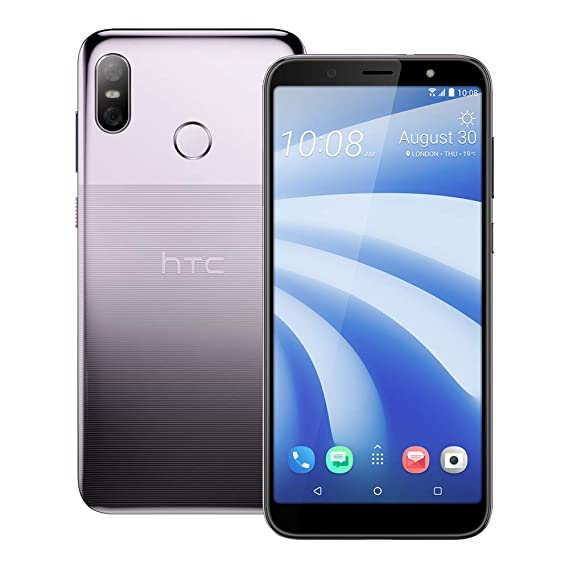 HTC U12 Life (2Q6E100) 4GB / 64GB 6 0-inches Dual SIM Factory Unlocked -  International Stock No Warranty (Twilight Purple)