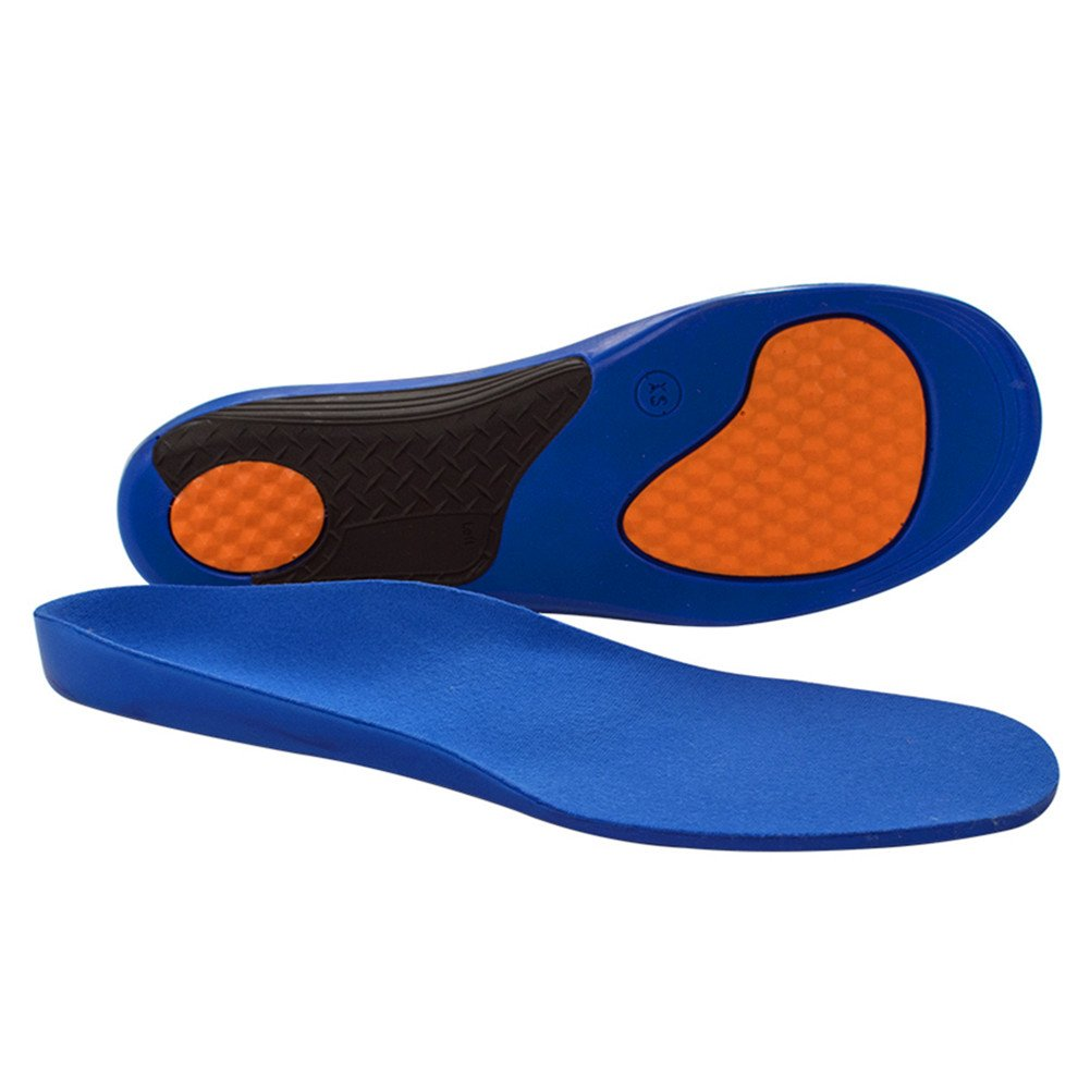 Insoles Orthotic Shoe Insert for Sport Proven to Relieve Flat Feet Pain / Plantar Fasciitis Pain / Heel Pain / Ankle Pain (XS(Women:5-6½ / Men:4-5½))