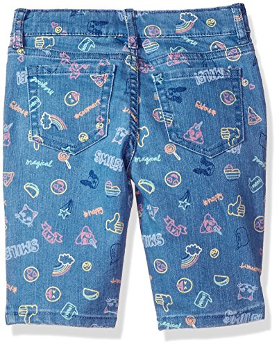The Children's Place Girls' Big Basic Denim Skimmer Shorts, Lt Med Wash 6596, 8 by The Children's Place (Image #2)
