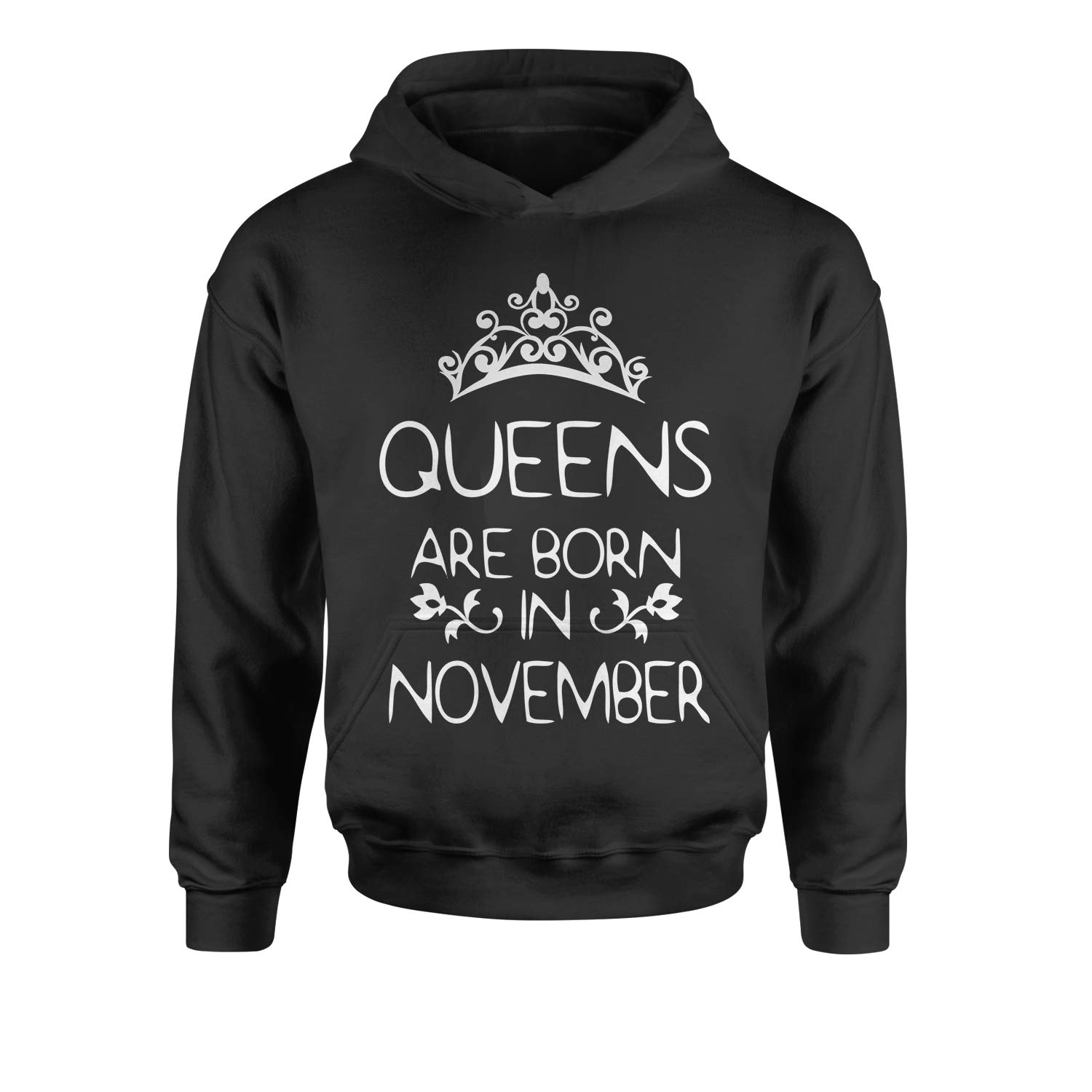 Motivated Culture Queens are Born in November Youth-Sized Hoodie