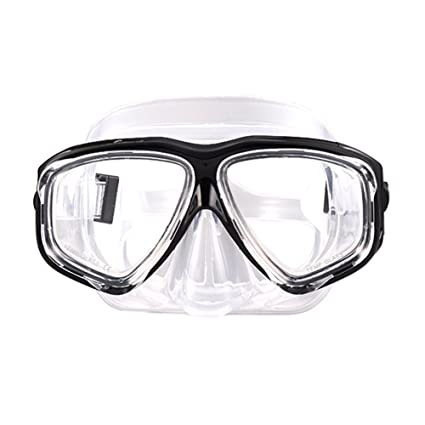 5bdb480aa1e4 Image Unavailable. Image not available for. Color  Seaggles Professional  Anti-fog Diving Goggles Mask for Adults Silicone Swim Goggles Men and Women