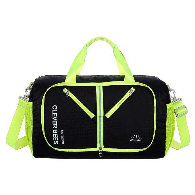Amazon.com: Swenice Bolsa de equipaje grande y ligera, 8 ...
