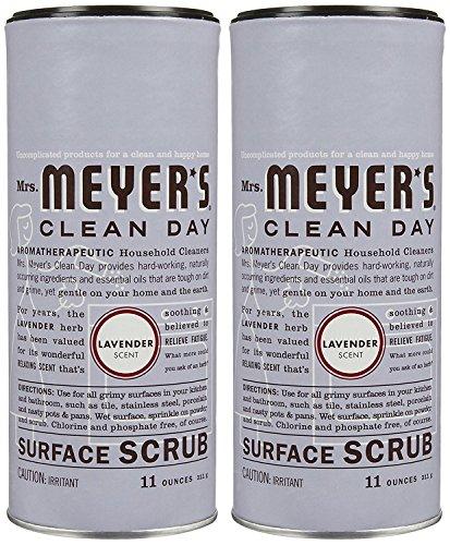Mrs. Meyer's Clean Day Surface Scrub - Lavender - 11 oz - 2 pk