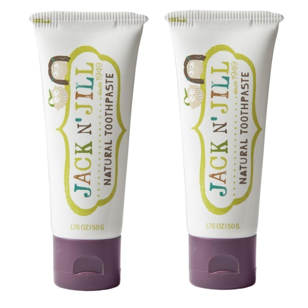 Jack N' Jill Natural Toothpaste, Blackcurrant, 1.76oz (Pack of 2) Jack N Jill