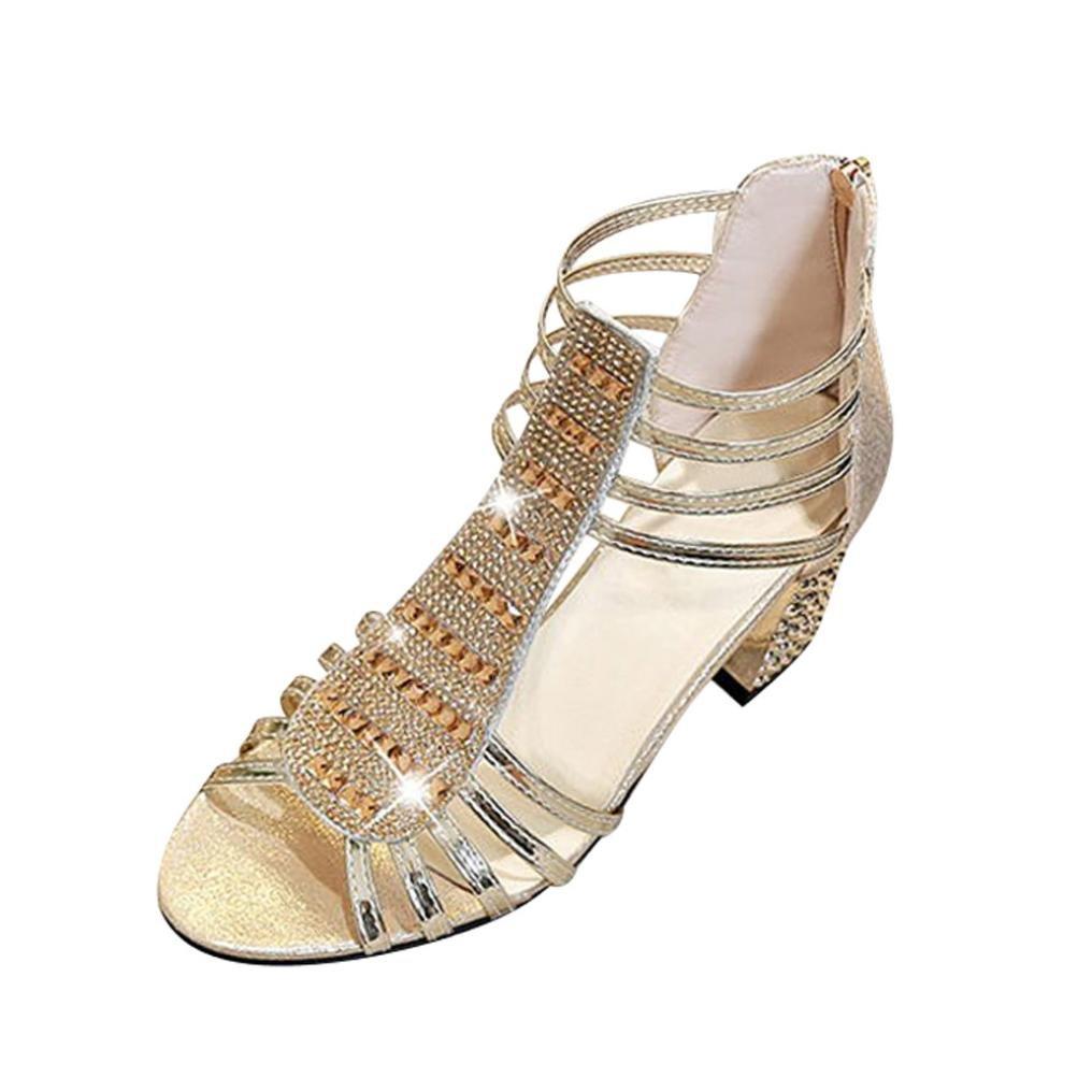 15971b4bdeb Clearance Fat.chot-Women s Shoes High Heel Slippers for Women ...
