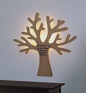 Firstlaser Holz Wanddeko Baum Amazon De Spielzeug
