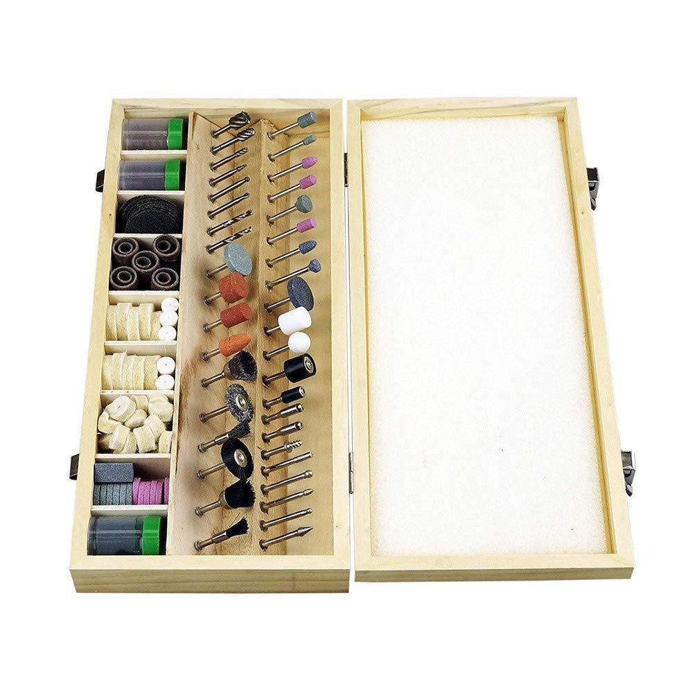 228pcs Rotary Tool Accessories Tools Kit Grinding Polishing Shank Craft Bits