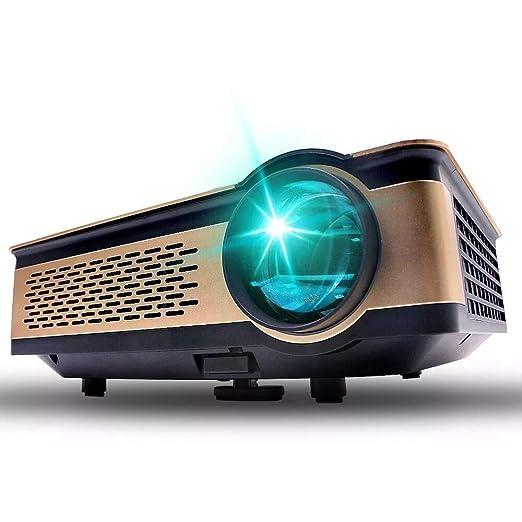 ZDZHU Mini proyector 3300 Lux con 30000 Horas de Vida útil de la ...