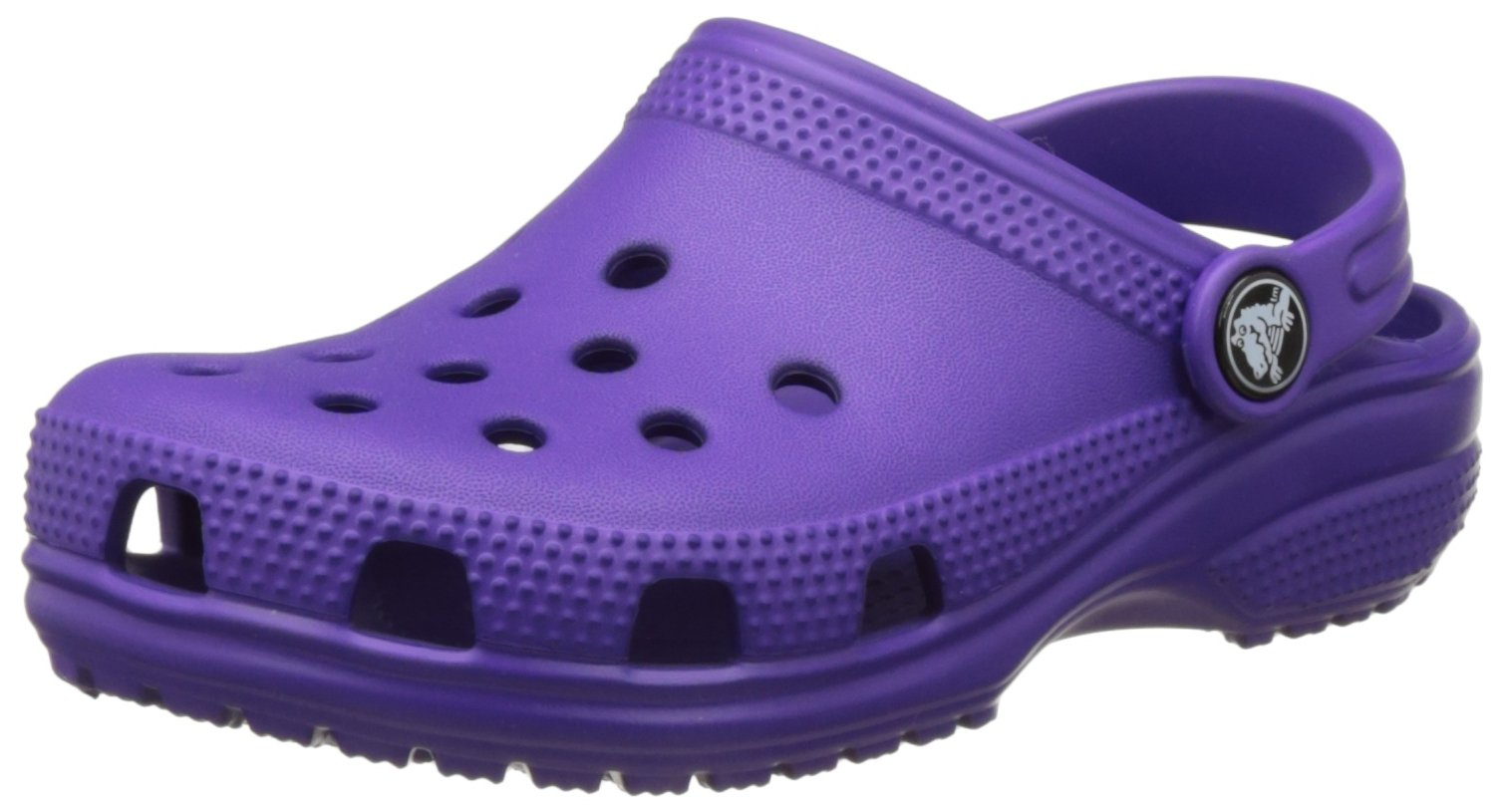 crocs Kids' Classic K Clog, Ultraviolet, 6 M US Toddler