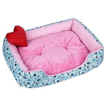 Amazon.com: Cojín para mascotas con diseño de perro, sofá ...