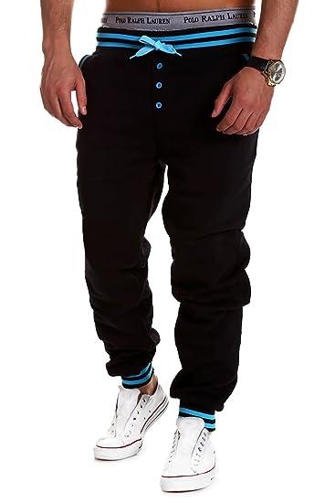 562245c4434b86 MT Styles Trainingshose Buttons Jogginghose MT-53  Amazon.de  Bekleidung