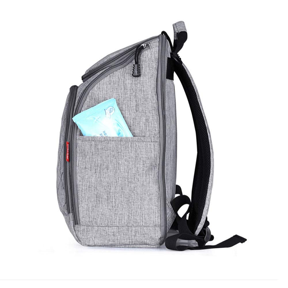 Stroller Organizer Stroller Organizer Bag Diaper Bag Waterproof Travel Backpack for Carrying Bottles, Diapers,Clothing, Toys & Snacks Etc 3 Colors Parents Stroller Organizer Bag by DHUYUN (Image #6)