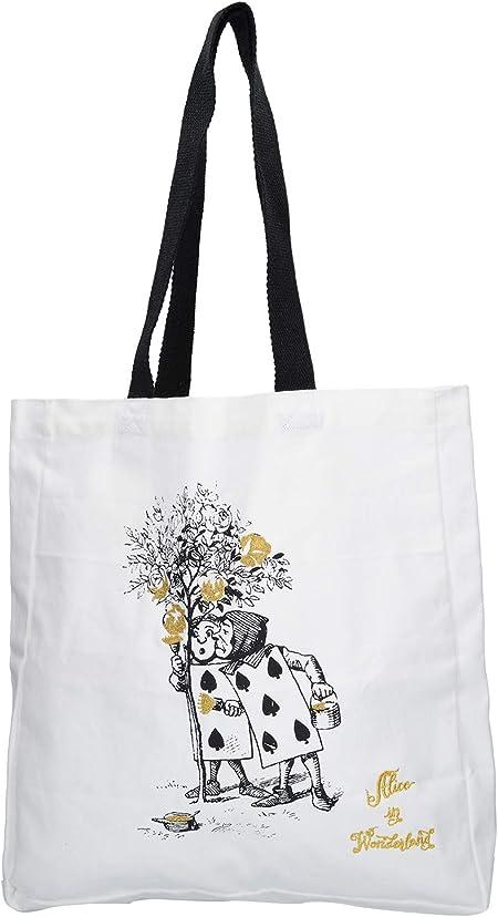 V&A - Bolsa de la Compra (algodón, 38 x 43 cm), Color Blanco: Amazon.es: Hogar
