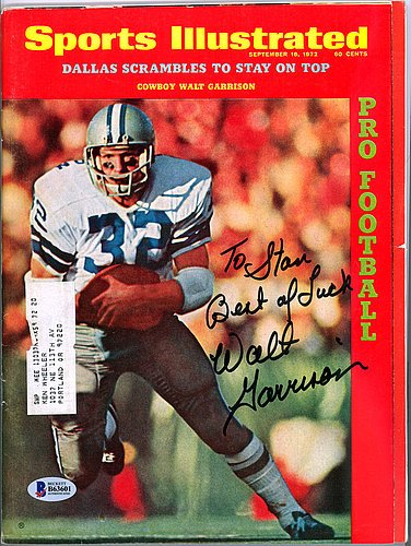 Walt Garrison Signed Sports Illustrated Magazine Dallas C...