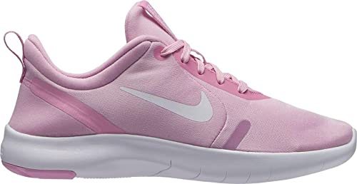 Nike Flex Experience RN 8 GS, Zapatillas de Atletismo para Mujer, Rise/White