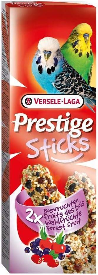 Versele-laga - Barritas Prestige para periquitos (10 Paquetes de 2) (Tamaño Único) (Frutas del Bosque)