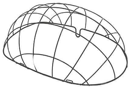 Amazon.com : Basil Pasja Pet Bicycle Basket Steel Space Frame ...