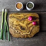 Rustic Olive Wood Chopping, Cheese, Cutting Board - 20 X 15 X 2