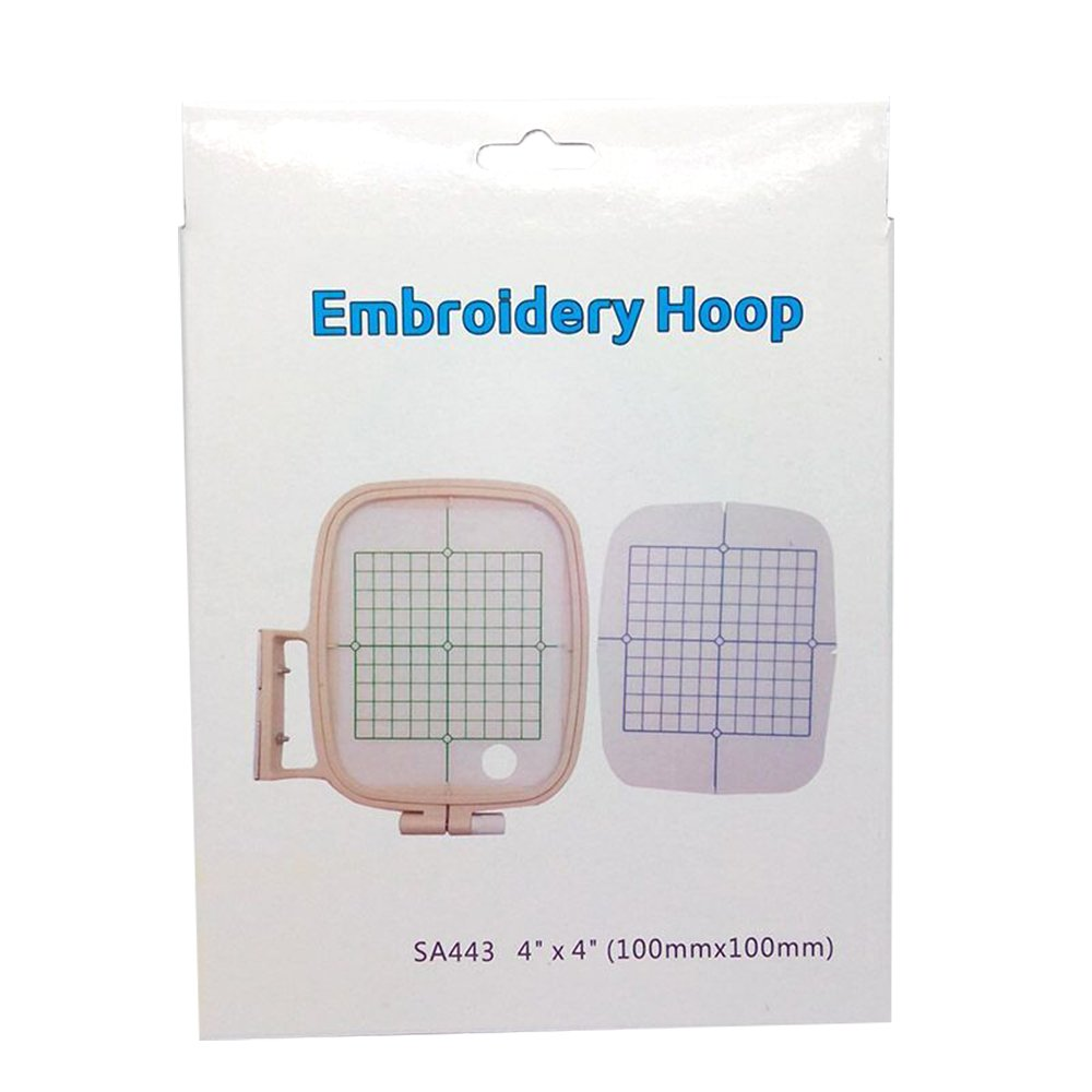 100mm x 100mm EMBROIDERY HOOP//FRAME FITS BROTHER INNOVIS 700e,750e,770,1200,1250