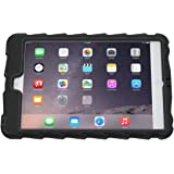 Apple iPad mini iPad mini Retina iPad mini 3 Hideaway with Stand Black Gumdrop Cases Silicone Rugged Shock Absorbing Protective Dual Layer Cover Case