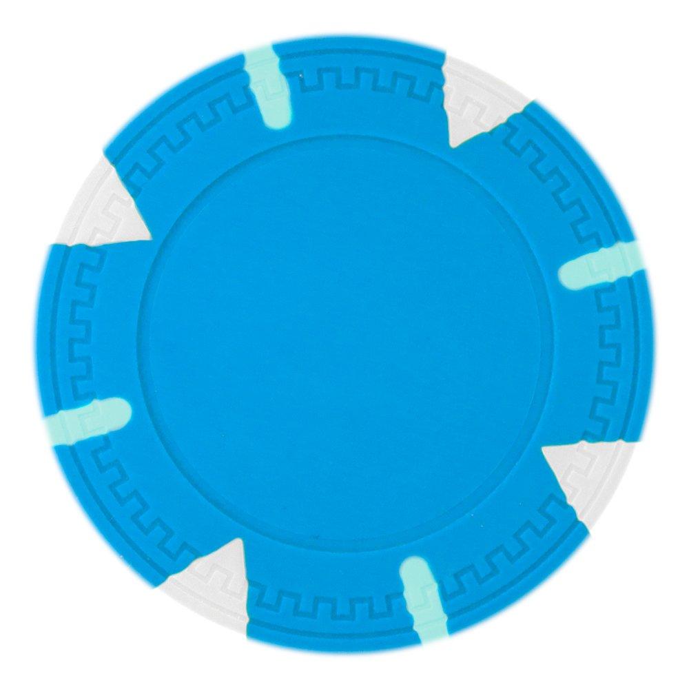 Claysmithゲーム三角形&スティックポーカーチップHeavyweight 13.5-gramクレイComposite – パックof パックof ライトブルー B01254N7MQ 50 ライトブルー B01254N7MQ, スタンプファクトリーshop:caf388b7 --- itxassou.fr