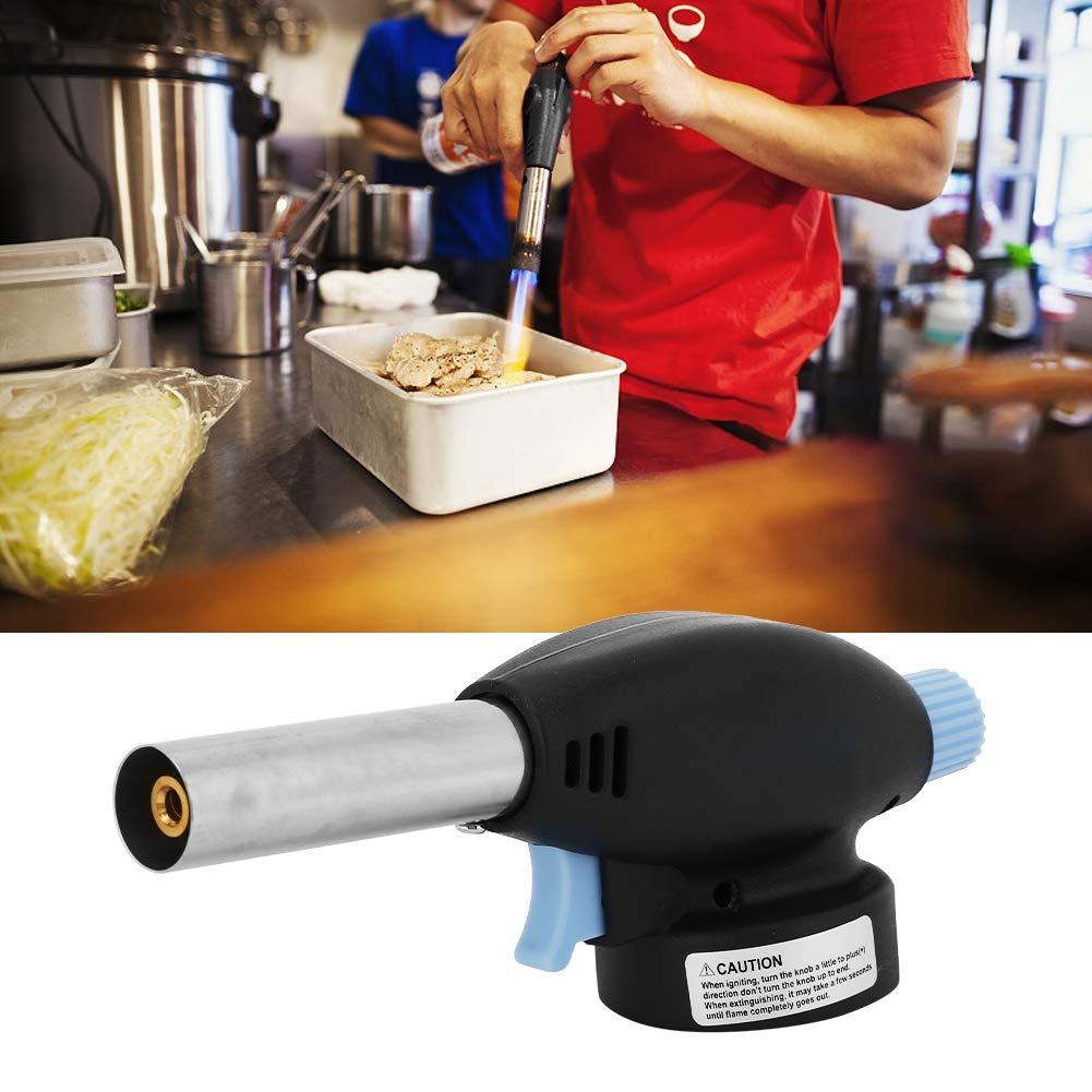 Chalumeau /à Gaz de Soudage Portable avec Tige de Soudage Fourr/ée 915 Pistolet T/ête de Torche /Équipements de Cuisine
