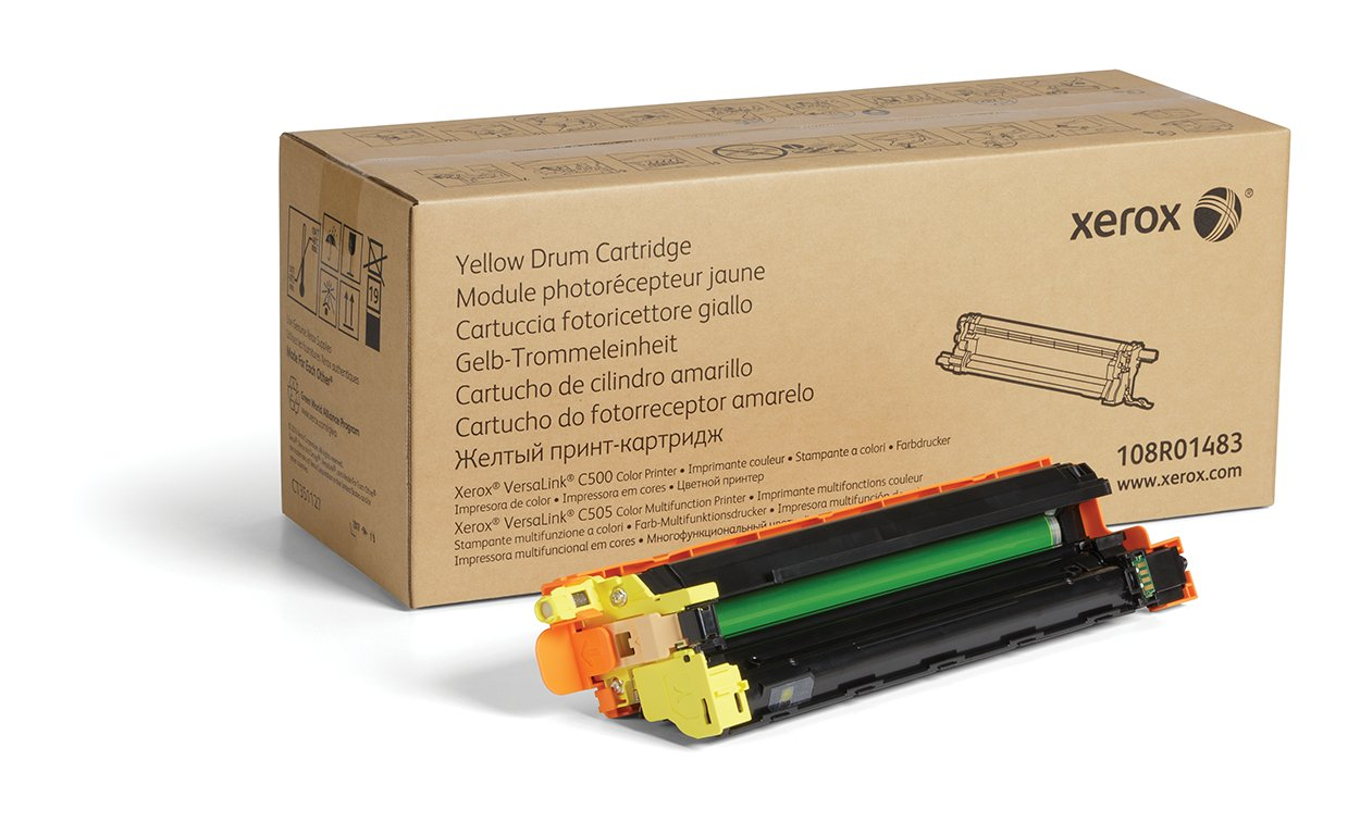 Amazon.com: Xerox Genuine Yellow Drum Cartridge 108R01483-40 ...