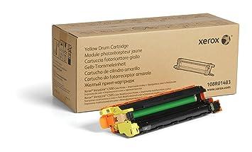 Amazon.com: Xerox Genuine Yellow Drum Cartridge 108R01483-40 ...