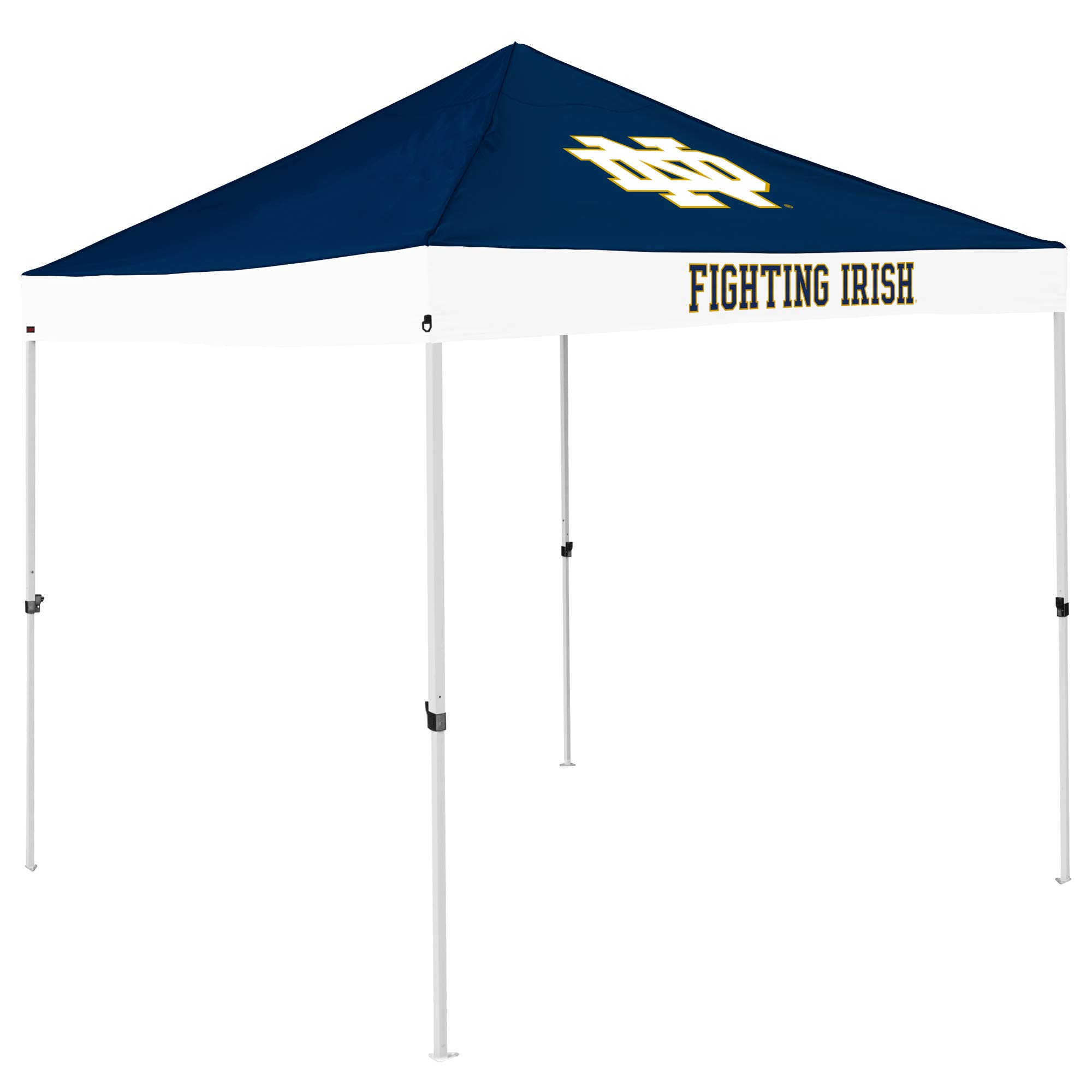 NCAA Notre Dame Fighting Irish Economy Canopy, Navy/White