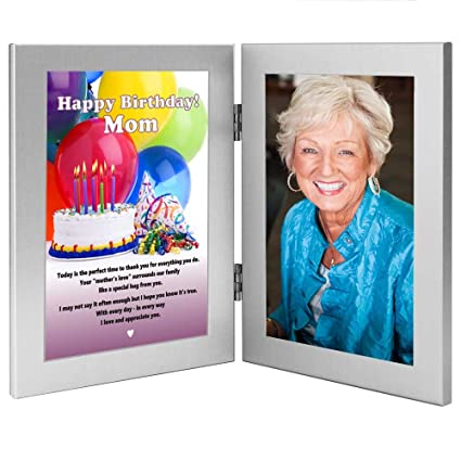 Amazon Com Poetry Gifts Mom Birthday Photo Frame Mother Add