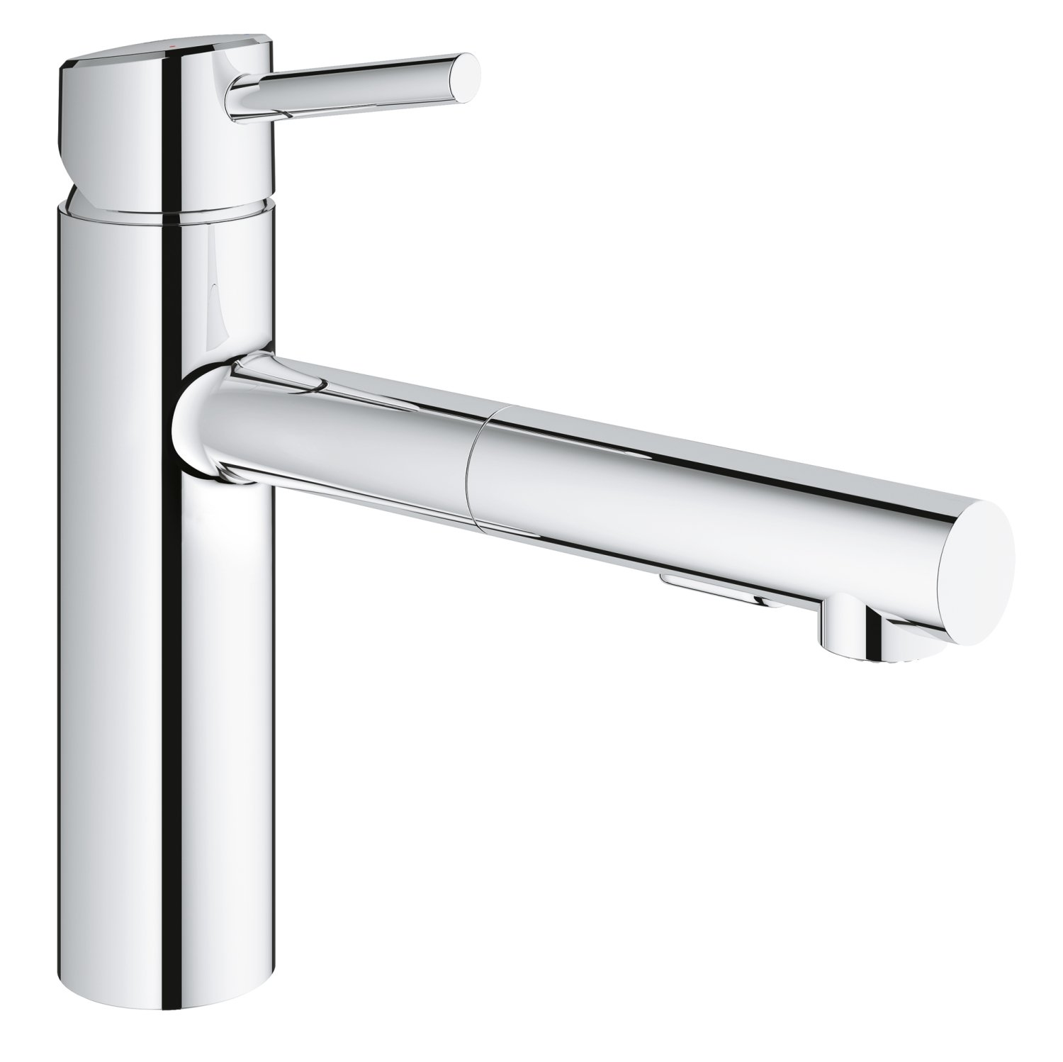 Concetto Single Handle Pull Out Kitchen Faucet with Dual Spray