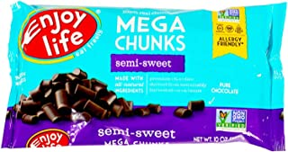 product image for Enjoy Life Mega Chunks Gluten Free Non-GMO Semi-Sweet Chocolate -- 10 oz Each / Pack of 3