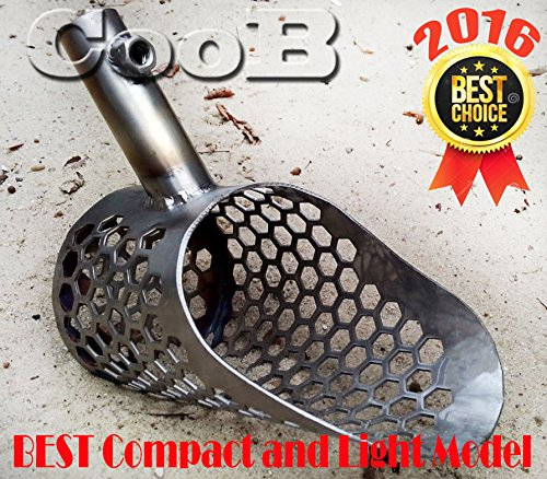 Sand Scoop SMALL Shovel Stainless Steel Hunting Detector Tool by CooB (Scout V2) (Sand Stainless Scoop Steel)