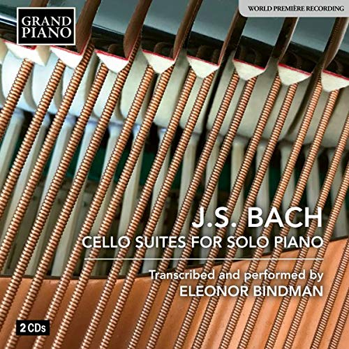 Bach: Low price Cello Suites transcribed Lowest price challenge for Eleonor Bindman by piano