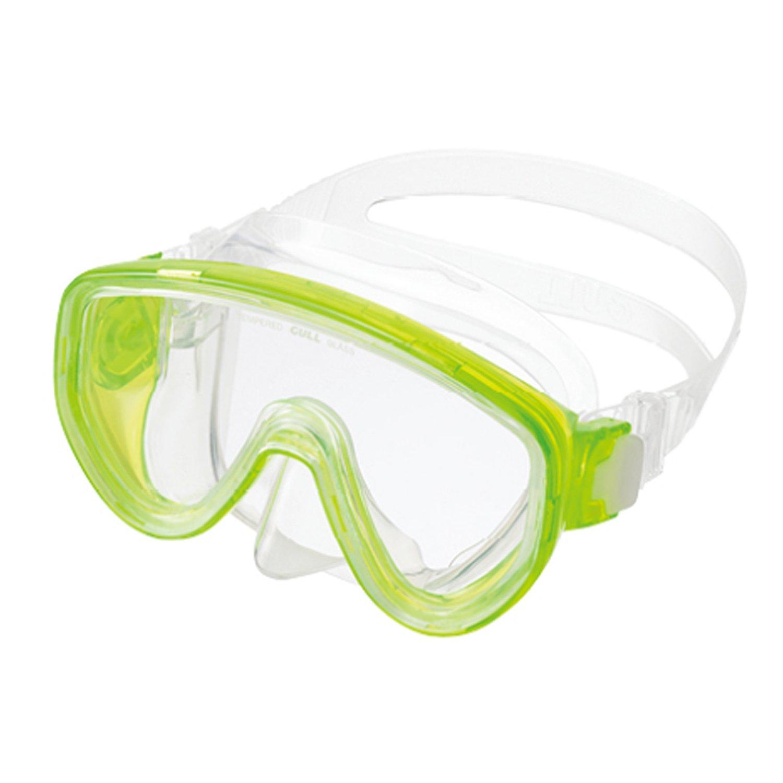 GULL (ガル) アビームマスク スクーバダイビング, シュノーケリング, フリーダイビング, スキンダイビング [Abeam] B075GKG1BP CREG Green/ Clear Silicon  CREG Green/ Clear Silicon