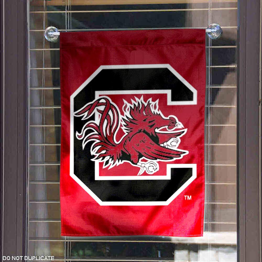 College Flags and Banners Co South Carolina Gamecocks Garden Flag