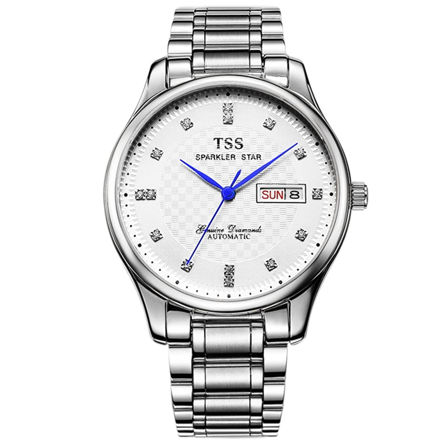Automatische mechanische Herrenuhren-Mode wasserdicht Business Watch-A