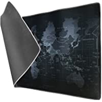Vicloon Alfombrilla Raton Gaming Grandes World Map Mouse Pad XXL 900x400x3 mm,Impermeable con Base de Goma…
