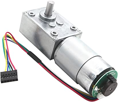 12V Electrical Speed Reducer 470rpm Gear Reduction Motor DC Motor w// Encoder