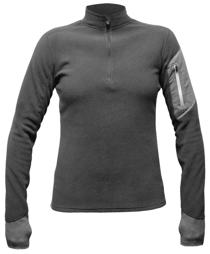 Hot Chillys Women's Lamont Zip-T Base Layer Top