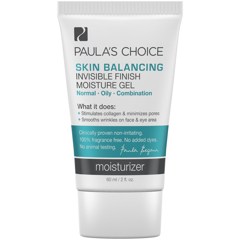 Paula's Choice SKIN BALANCING Invisible Finish Moisture Gel Moisturizer with Antioxidants and Niacinamide for Oily Skin - 2 oz